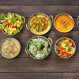 Vegan or vegetarian restaurant dishes to
