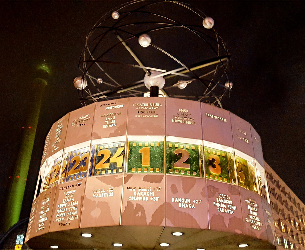 World Clock, Alexanderplatz Berlin