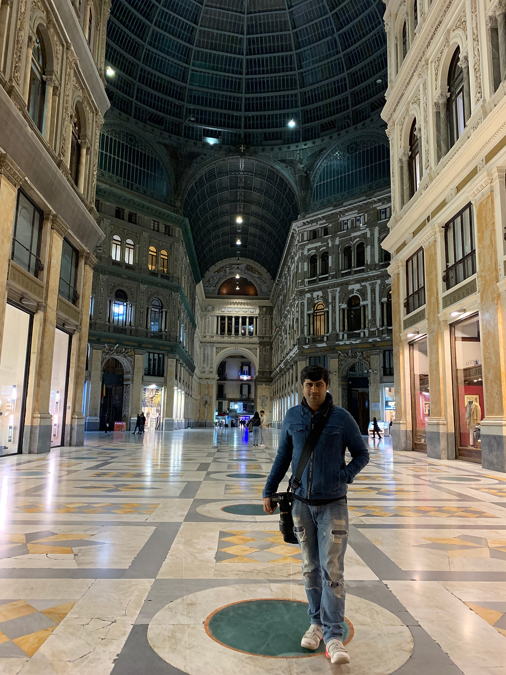Galleria Umberto in Naples, Italy