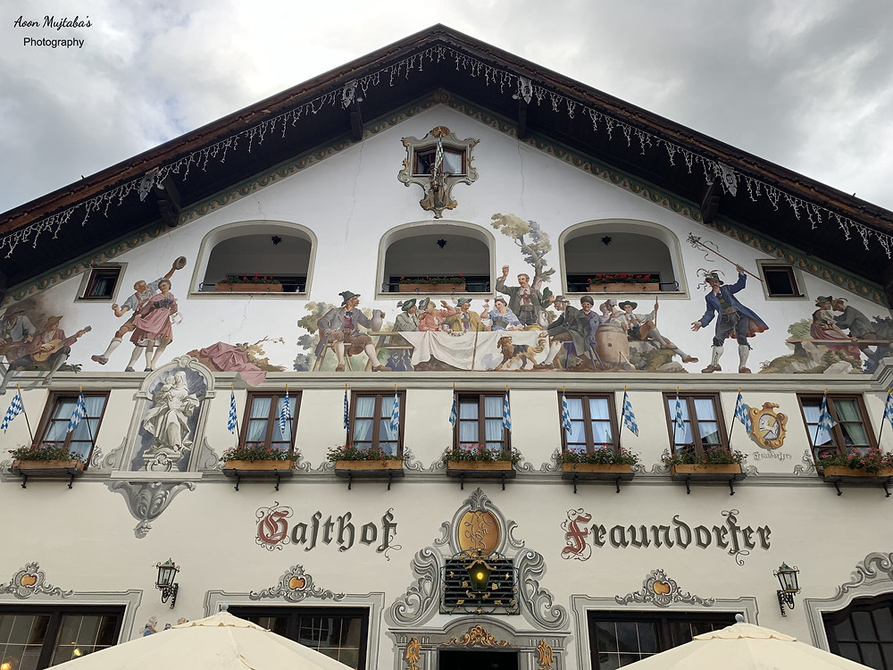 Old Town, Garmisch in Germany