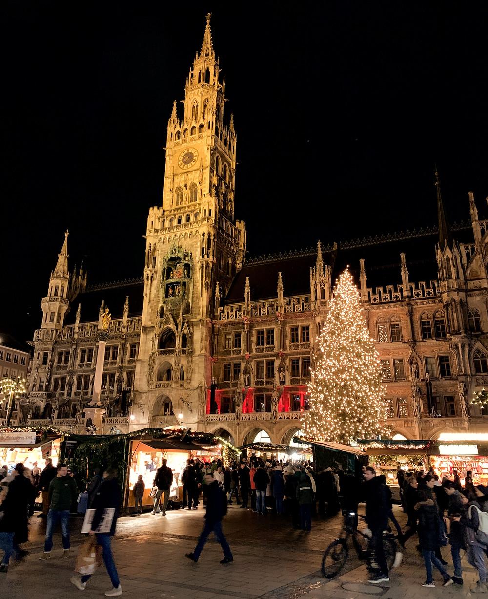 Christmas Market in Marienplatz, Munich