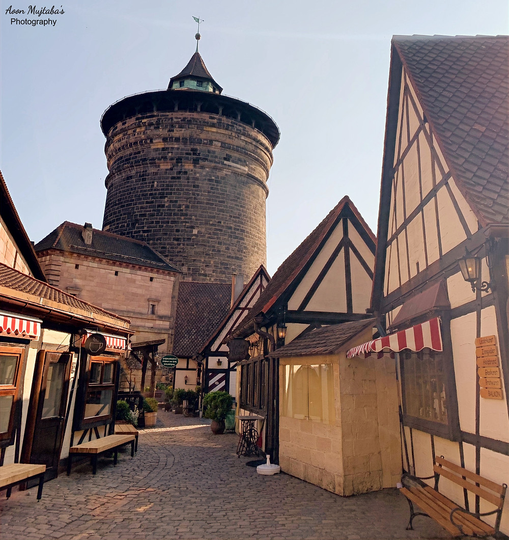 Frauentor, Nuremburg old town