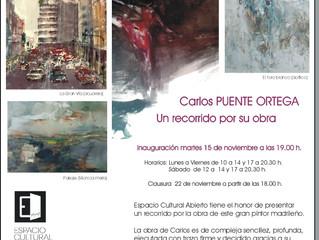 El Arte de Carlos Puente en Espacio Abierto