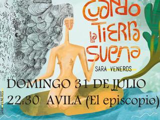 PRESENTANDO EN MI TIERRA, AVILA,EL domingo 31 DE JULIO a las 22:30