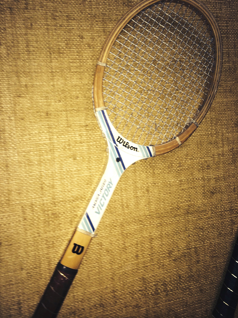Andrea Jaeger Wilson racket