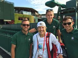 Wimbledon Court Support
