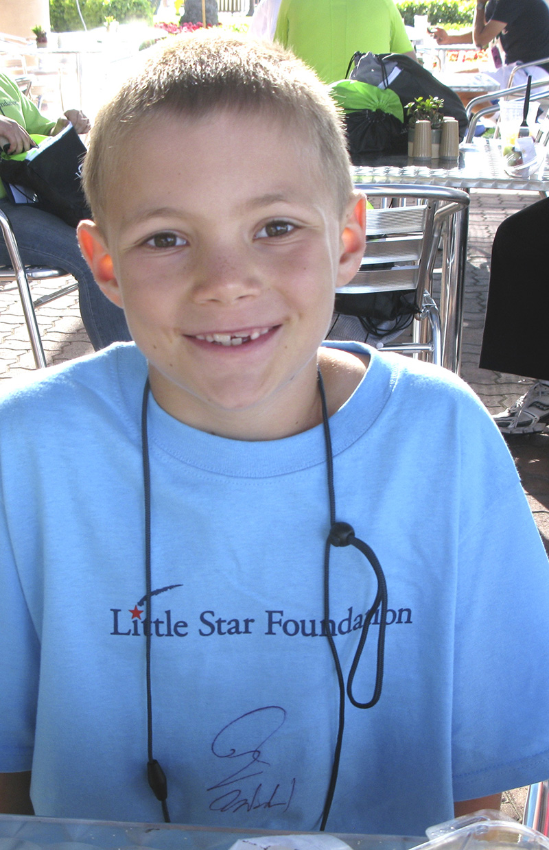 Little Star. Program for Children with cancer in CA w Sam