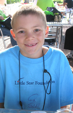 Little Star. Program for Children with cancer in CA w Sam