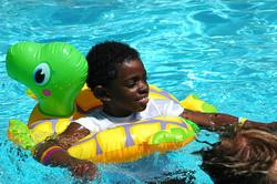 Little Star water therapy pool fun Jalen_swim