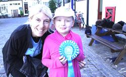 Little Star Equine rider champion. London, England