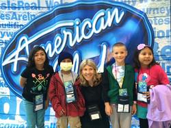 Little Star AJ LA American Idol children's camp session