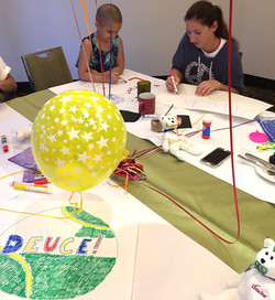 Art Therapy Programs of Little Star taught by Adriana for children with cancer 2015-03-27