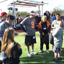 Little Star Program with NFL Tony Romo Pro Bowl 2015JPG
