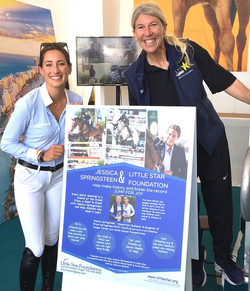 Little Star. with Rider Jessica Springsteen & AJ Equine Therapy Program