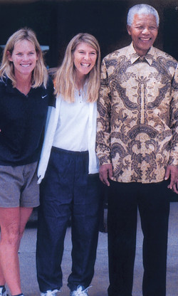 Little Star Nelson Mandela visit w LSF VP HB & Pres. AJ in CO to congratulate them on humanitarian