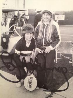 John McEnroe & Andrea Jaeger first meet IMG_5805