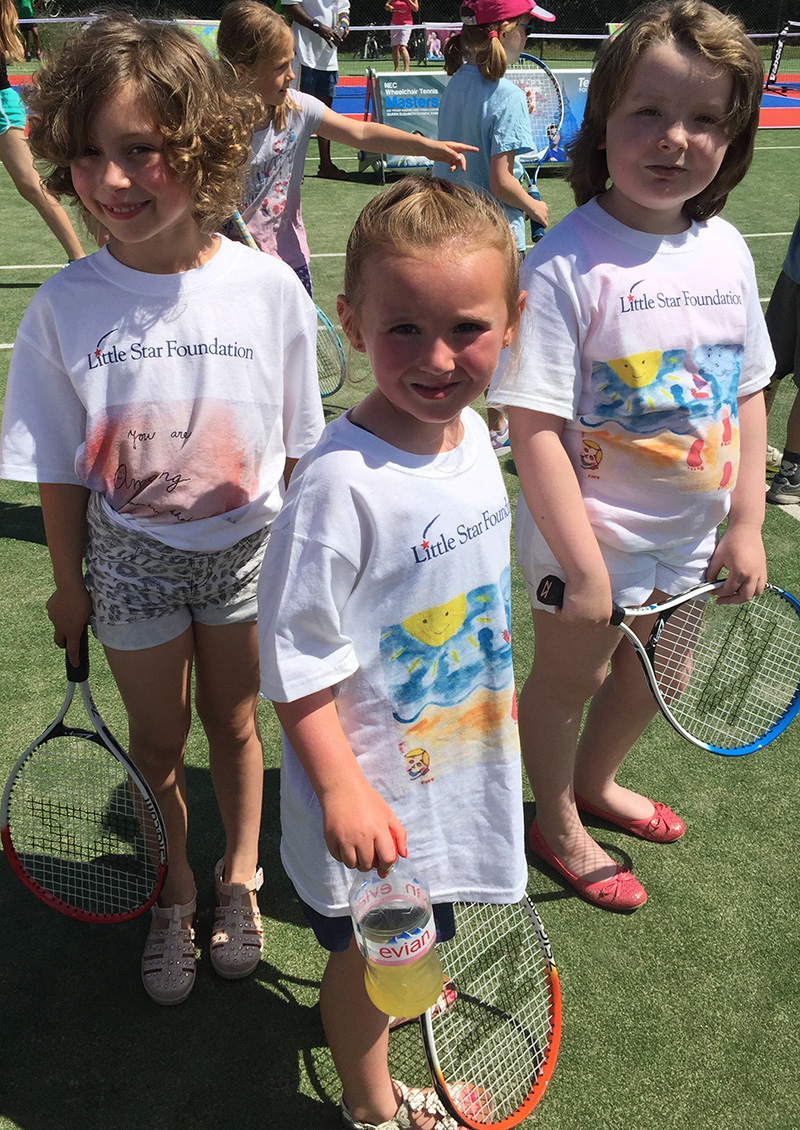 Wimbledon Kids Program Clothes designed by AS