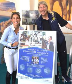 Jessica Springsteen & AJ Longines Global Champions Tour Miami VIP Entry 1A copy 2
