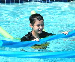 Little Star children's cancer programs Ken_swim