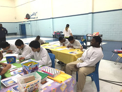 Juv Det Ctr Kids and AJ inside Juv Prison 2