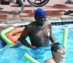 Little Star Camp Pool time w cancer children Charon_Karlee