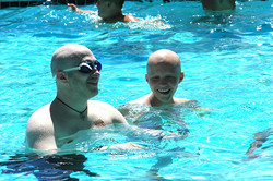 Little Star Children's cancer Program takes to the pool Lance_Meghan