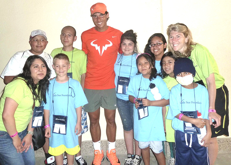 Little Star. with Rafa, AJaeger & Little Star Fdtn children's cancer program