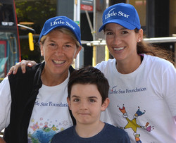 London Programs AJ, Zac & AS. Zac lost 7 year old twin sister to cancer