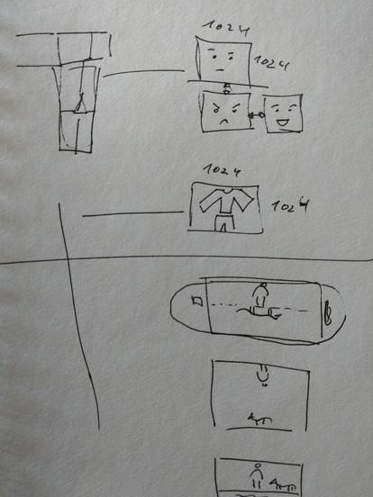 A couple of desing sketches
