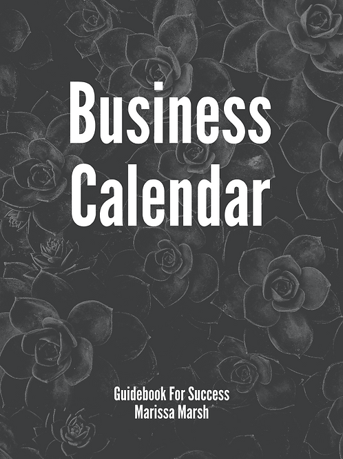 Young Living Business Calendar