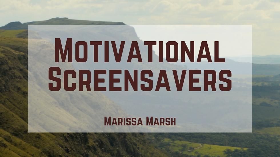 Motivational Screensavers