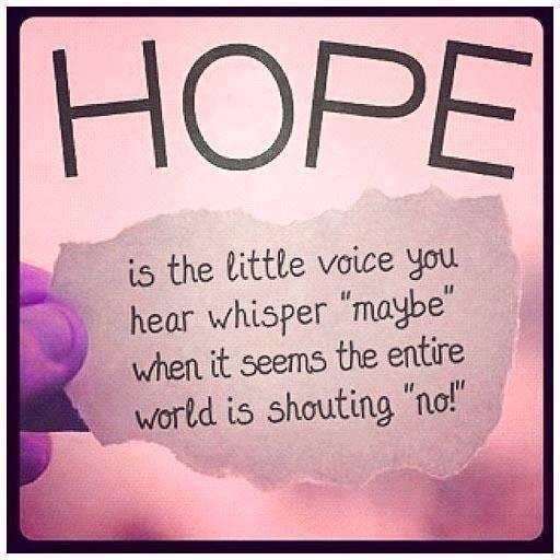 Vision Venturing- Hope