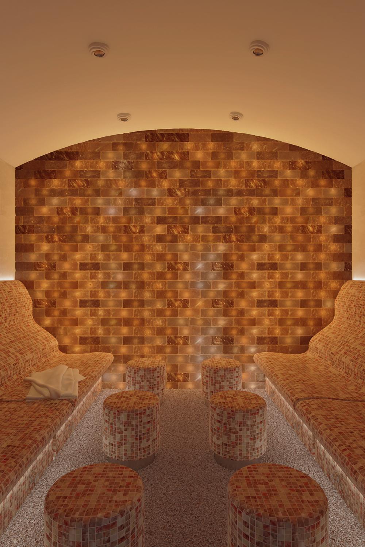 Соляная паровая баня