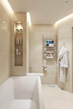 Совмещённый сан. узел с ванной