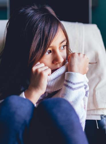 Un enfant a toujours tendance à se croire responsable du mal qu'on lui fait.
