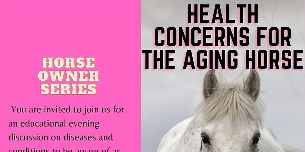 Health Concerns for the Aging Horse