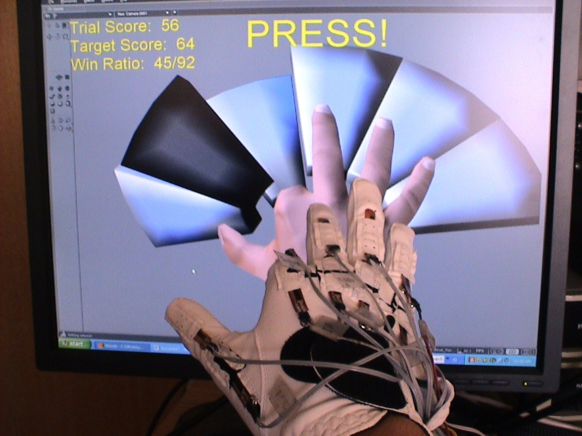 Virtual Hand for Rehabilitation