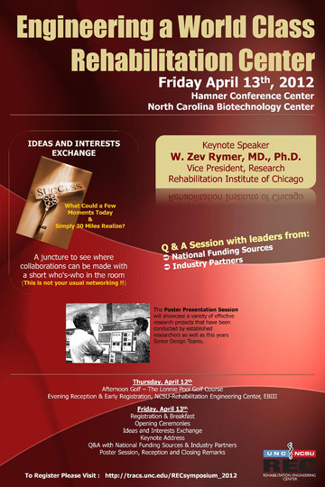 inaugural -Engineering a World Class Rehabilitation Center Symposium
