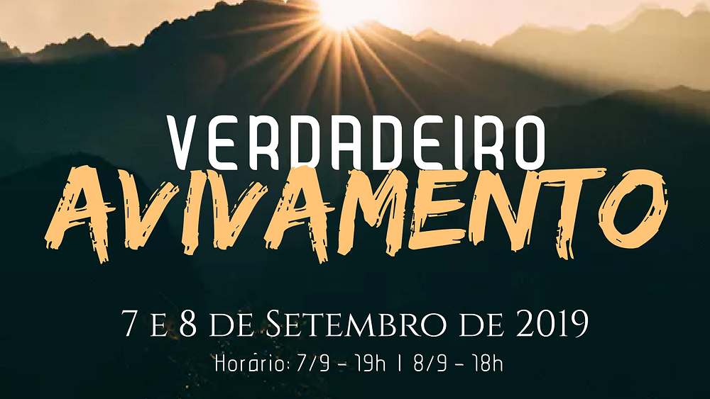Tema da Conferência Herança Cristã 2019