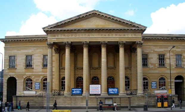 Prédio do Tabernáculo Metropolitano, em Londres