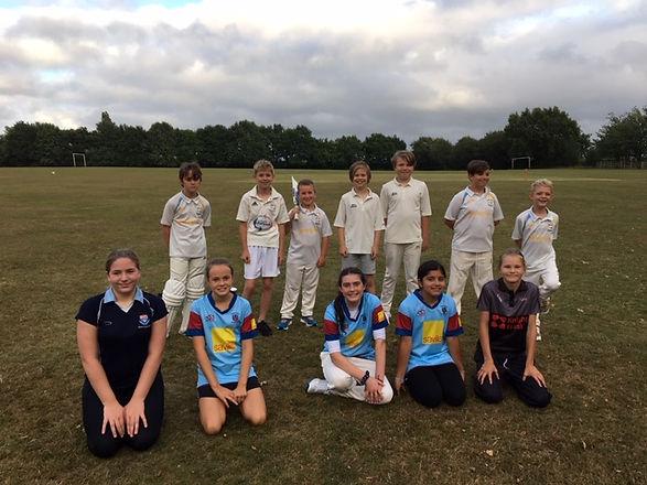 U12 girls v Horsmonden 27th July 2020.JP