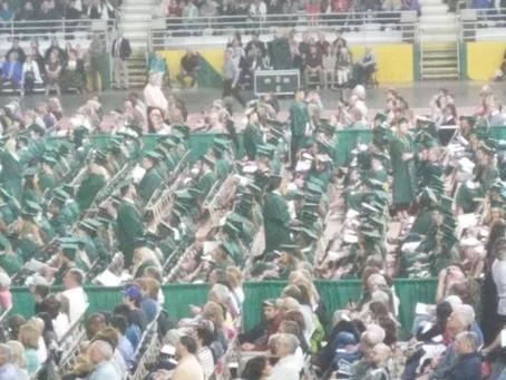 Snyder's message to grads despite protest