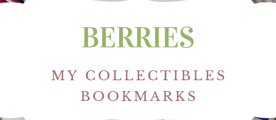 Wild Berries as Bookmarks
