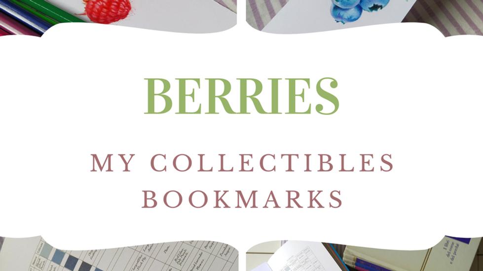 Wild Berries as Bookmarks