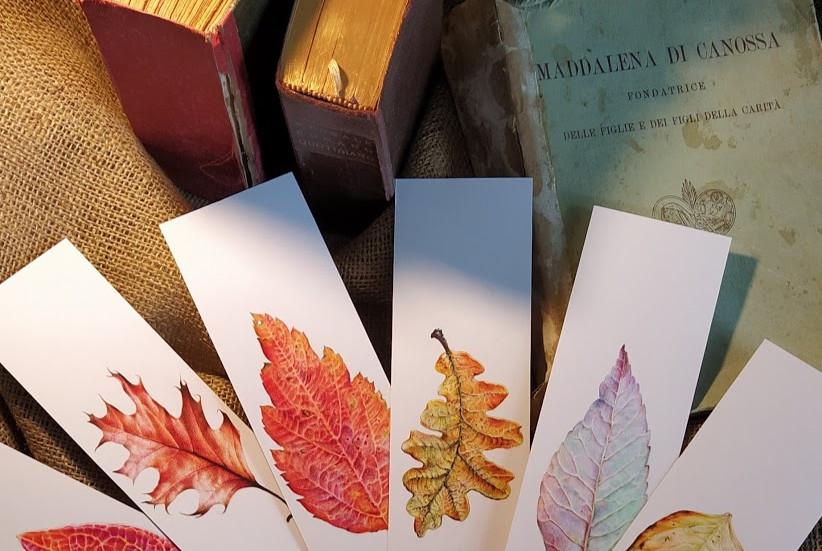 Autumn Leaves Bookmarks