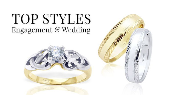 top-styles-engagement-rings-wedding-band