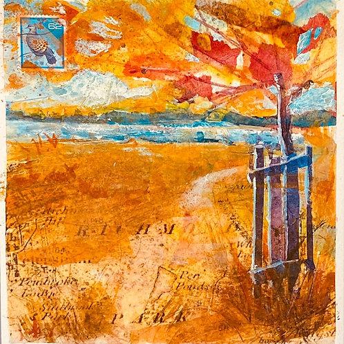 Autumn Reverie 4 (Pen Ponds)