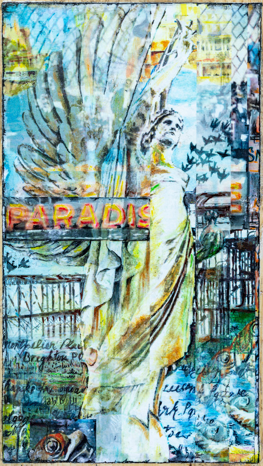 Abstact Angel In Paradise .jpg