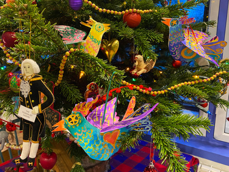 Fabulous Flying Birds are festive and fun!