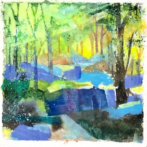 Bluebell Blues 4 (Golden Light)